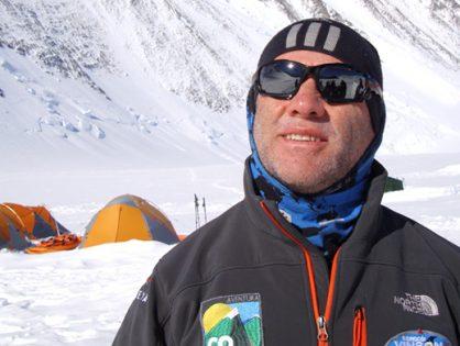 Este domingo en 4 Caminos: el deportista paralímpico que escaló el Everest