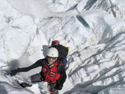 Nelson Cardona llevará la bandera de Colombia a la cumbre más alta de la Antártida
